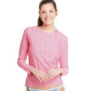 Vineyard Vines XXS Pink Anguilla Rashguard Shirt
